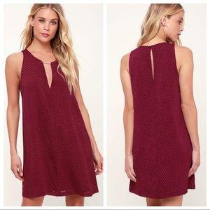 Lulu's 'As Good As It Gets' Shift Dress